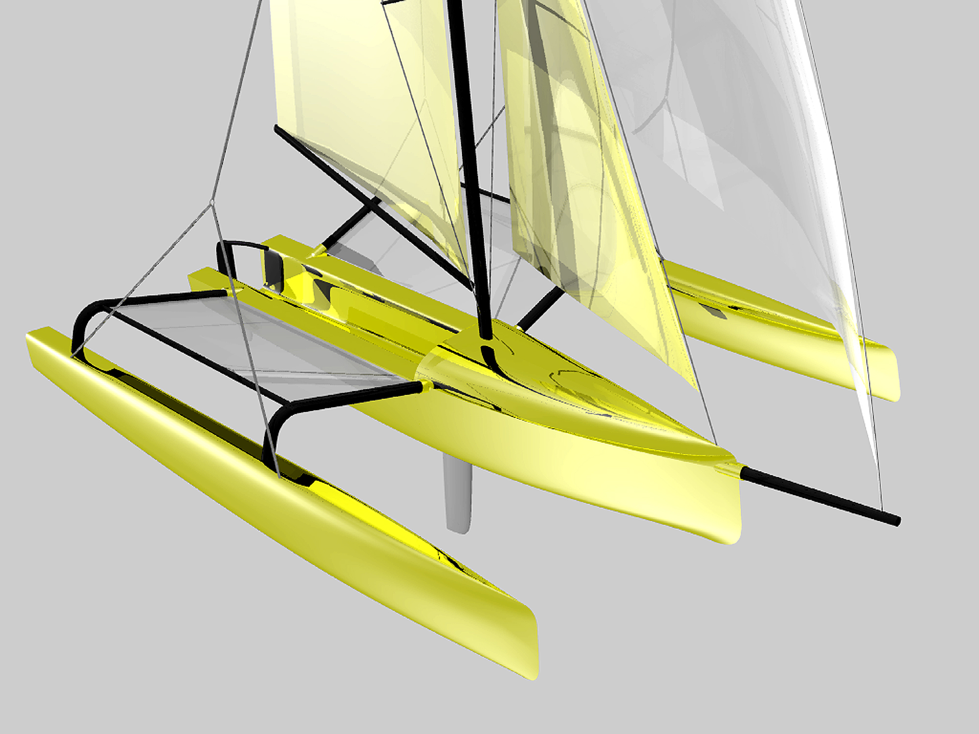 Plywood Catamaran Sailboat Plans