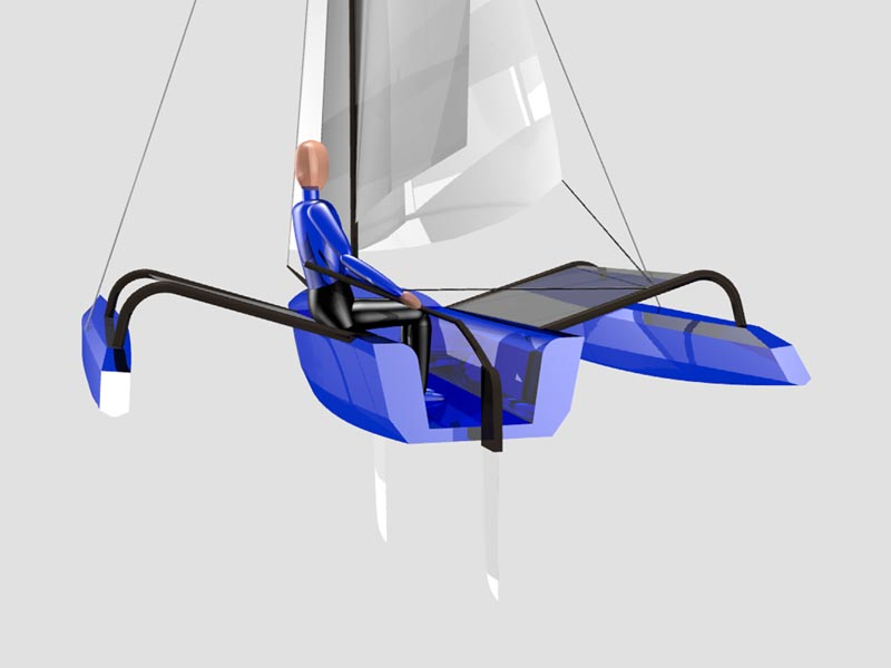 Stitch And Glue Trimarans Lunada Design