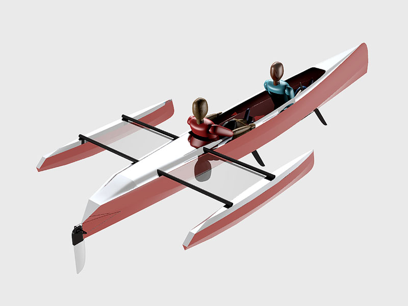 Stitch and Glue Boat Designs | Lunada Design