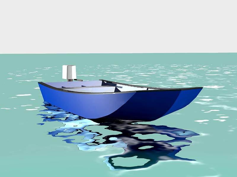 Engine Powered Open Boats | Lunada Design